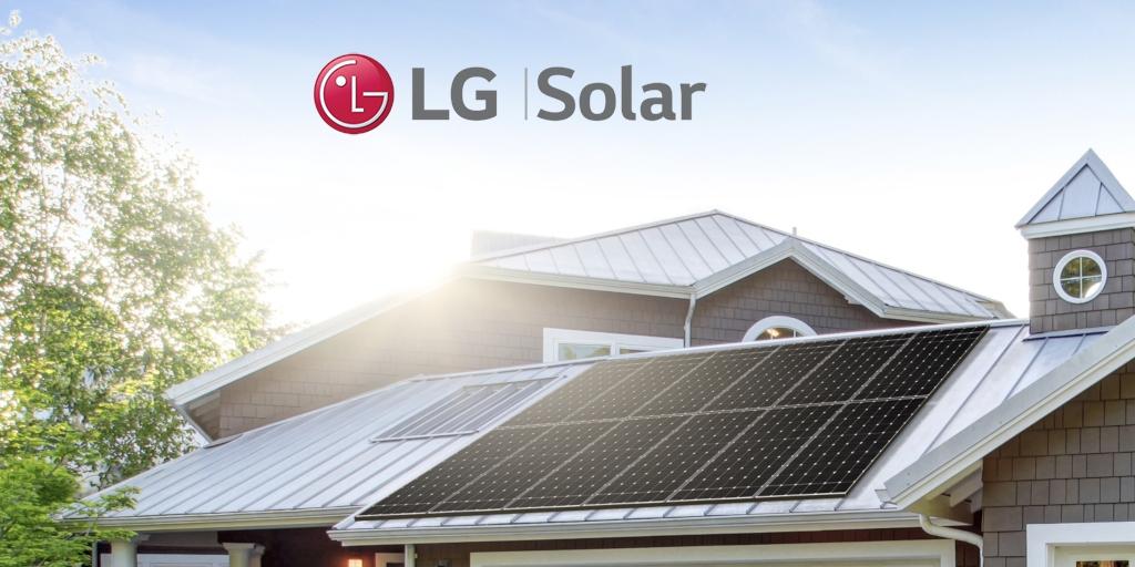Tấm pin Mặt trời LG Solar