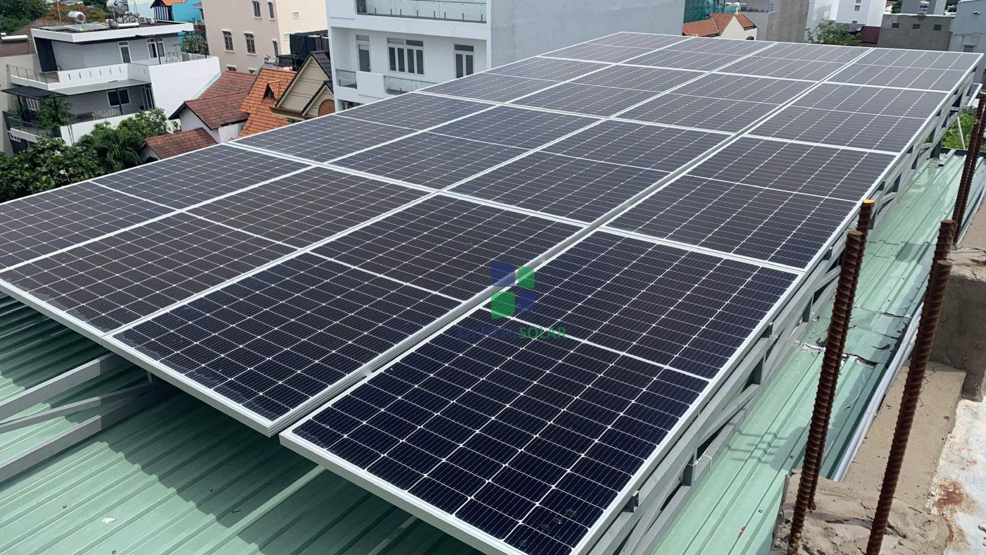Điện mặt trời quận Tân Bình