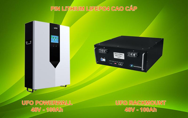 Pin Lithium UFO 48V 100Ah