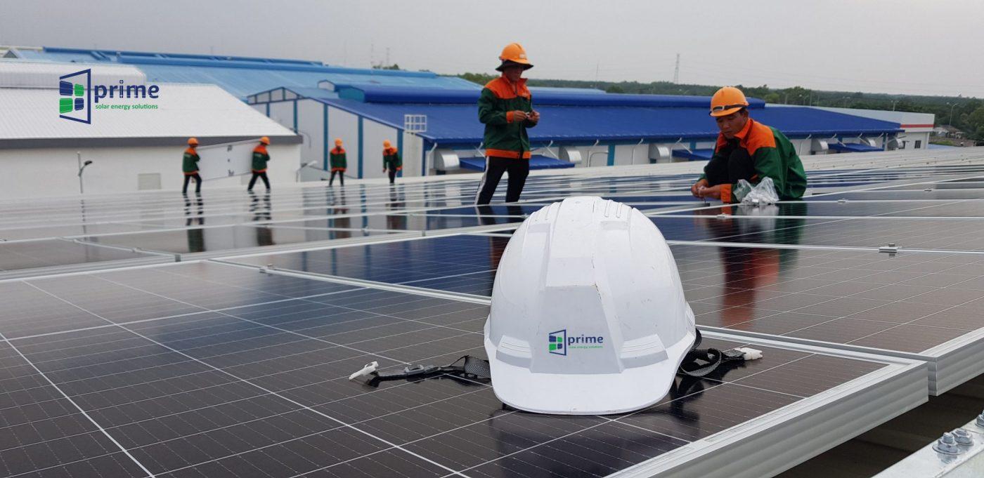 Tổng thầu EPC điện Mặt trời